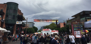 rainy day at the festival tempe